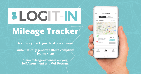 logit in mileage tracker app for iphone and android